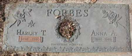 FORBES, HARLEY T. - Yankton County, South Dakota | HARLEY T. FORBES - South Dakota Gravestone Photos