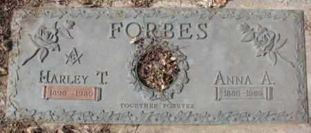 FORBES, ANNA A. - Yankton County, South Dakota   ANNA A. FORBES - South Dakota Gravestone Photos