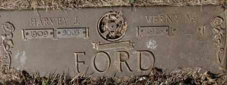FORD, HARVEY J. - Yankton County, South Dakota   HARVEY J. FORD - South Dakota Gravestone Photos