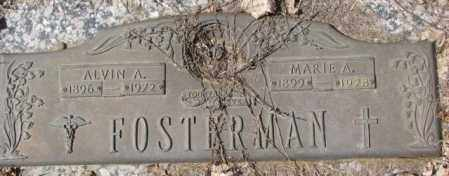 FOSTERMAN, ALVIN A. - Yankton County, South Dakota | ALVIN A. FOSTERMAN - South Dakota Gravestone Photos