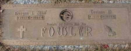 "FOWLER, MORGAN I. ""SLIM"" - Yankton County, South Dakota | MORGAN I. ""SLIM"" FOWLER - South Dakota Gravestone Photos"