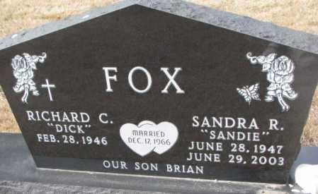 FOX, RICHARD C. - Yankton County, South Dakota   RICHARD C. FOX - South Dakota Gravestone Photos