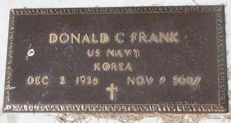 FRANK, DONALD C. (KOREA) - Yankton County, South Dakota | DONALD C. (KOREA) FRANK - South Dakota Gravestone Photos