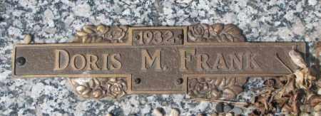 FRANK, DORIS M. - Yankton County, South Dakota | DORIS M. FRANK - South Dakota Gravestone Photos