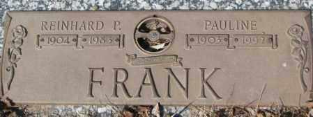 FRANK, PAULINE - Yankton County, South Dakota | PAULINE FRANK - South Dakota Gravestone Photos