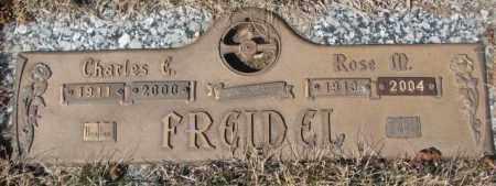 FREIDEL, CHARLES E. - Yankton County, South Dakota   CHARLES E. FREIDEL - South Dakota Gravestone Photos