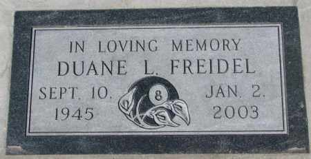 FREIDEL, DUANE L. - Yankton County, South Dakota | DUANE L. FREIDEL - South Dakota Gravestone Photos