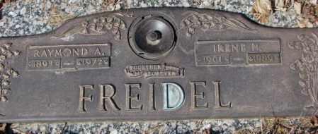 FREIDEL, IRENE H. - Yankton County, South Dakota | IRENE H. FREIDEL - South Dakota Gravestone Photos