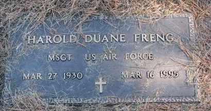 FRENG, HAROLD DUANE (MILITARY) - Yankton County, South Dakota | HAROLD DUANE (MILITARY) FRENG - South Dakota Gravestone Photos