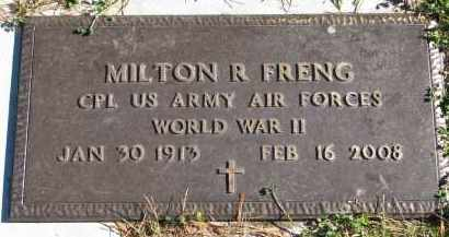 FRENG, MILTON R. (WW II) - Yankton County, South Dakota | MILTON R. (WW II) FRENG - South Dakota Gravestone Photos
