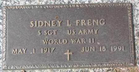 FRENG, SIDNEY L. - Yankton County, South Dakota | SIDNEY L. FRENG - South Dakota Gravestone Photos