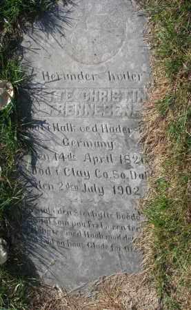 FRENNESON, METTIE CHRISTINA - Yankton County, South Dakota   METTIE CHRISTINA FRENNESON - South Dakota Gravestone Photos