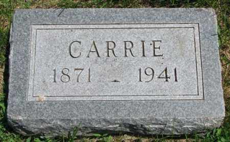 FRICK, CARRIE - Yankton County, South Dakota   CARRIE FRICK - South Dakota Gravestone Photos