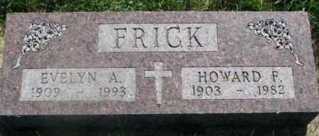 FRICK, EVELYN A. - Yankton County, South Dakota | EVELYN A. FRICK - South Dakota Gravestone Photos