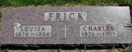 FRICK, CHARLES - Yankton County, South Dakota | CHARLES FRICK - South Dakota Gravestone Photos