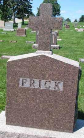 FRICK, PLOT - Yankton County, South Dakota | PLOT FRICK - South Dakota Gravestone Photos