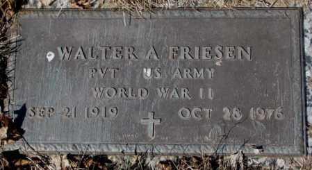 FRIESEN, WALTER A. (WW II) - Yankton County, South Dakota | WALTER A. (WW II) FRIESEN - South Dakota Gravestone Photos