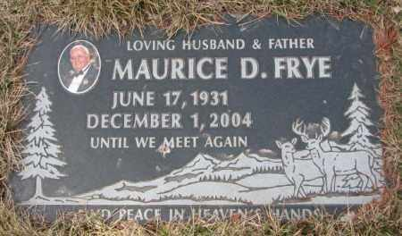 FRYE, MAURICE D. - Yankton County, South Dakota | MAURICE D. FRYE - South Dakota Gravestone Photos