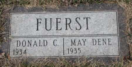 FUERST, MAY DENE - Yankton County, South Dakota   MAY DENE FUERST - South Dakota Gravestone Photos