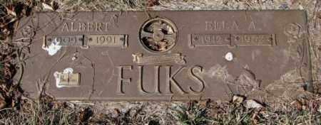 FUKS, ELLA A. - Yankton County, South Dakota | ELLA A. FUKS - South Dakota Gravestone Photos