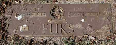 FUKS, ALBERT - Yankton County, South Dakota | ALBERT FUKS - South Dakota Gravestone Photos