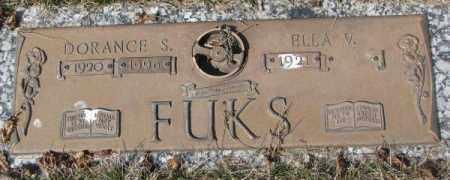 FUKS, ELLA V. - Yankton County, South Dakota | ELLA V. FUKS - South Dakota Gravestone Photos