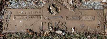 FUKS, SANFORD - Yankton County, South Dakota   SANFORD FUKS - South Dakota Gravestone Photos