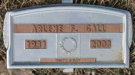 GALL, ARLENE F. - Yankton County, South Dakota   ARLENE F. GALL - South Dakota Gravestone Photos