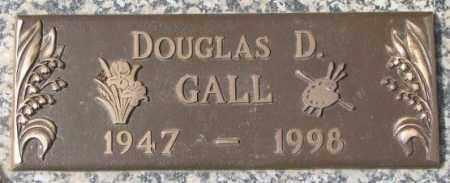GALL, DOUGLAS D. - Yankton County, South Dakota   DOUGLAS D. GALL - South Dakota Gravestone Photos
