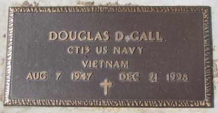 GALL, DOUGLAS D. - Yankton County, South Dakota | DOUGLAS D. GALL - South Dakota Gravestone Photos