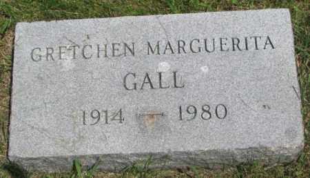 GALL, GRETCHEN MARGUERITA - Yankton County, South Dakota | GRETCHEN MARGUERITA GALL - South Dakota Gravestone Photos