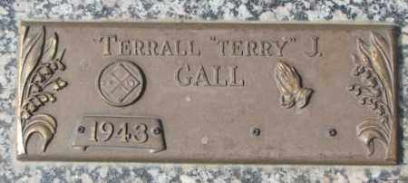 """GALL, TERRALL J. """"TERRY"""" - Yankton County, South Dakota 