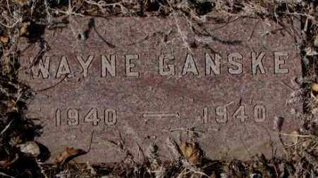 GANSKE, WAYNE - Yankton County, South Dakota | WAYNE GANSKE - South Dakota Gravestone Photos