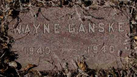 GANSKE, WAYNE - Yankton County, South Dakota | WAYNE GANSKE - South Dakota Gravestone Photos