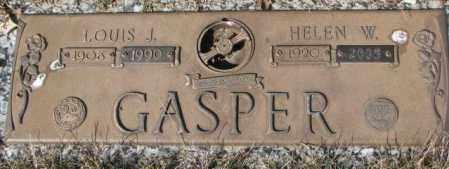 GASPER, LOUIS J. - Yankton County, South Dakota | LOUIS J. GASPER - South Dakota Gravestone Photos