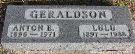 GERALDSON, LULU - Yankton County, South Dakota   LULU GERALDSON - South Dakota Gravestone Photos