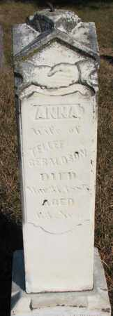 GERALDSON, ANNA - Yankton County, South Dakota | ANNA GERALDSON - South Dakota Gravestone Photos