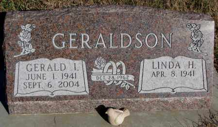 GERALDSON, LINDA H. - Yankton County, South Dakota | LINDA H. GERALDSON - South Dakota Gravestone Photos