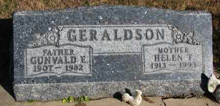 GERALDSON, GUNVALD E. - Yankton County, South Dakota | GUNVALD E. GERALDSON - South Dakota Gravestone Photos
