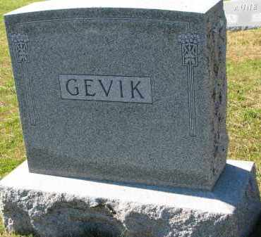 GEVIK, FAMILY STONE - Yankton County, South Dakota | FAMILY STONE GEVIK - South Dakota Gravestone Photos