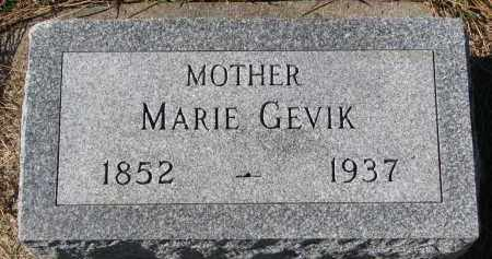 GEVIK, MARIE - Yankton County, South Dakota | MARIE GEVIK - South Dakota Gravestone Photos