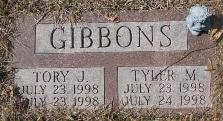 GIBBONS, TORY J. - Yankton County, South Dakota | TORY J. GIBBONS - South Dakota Gravestone Photos