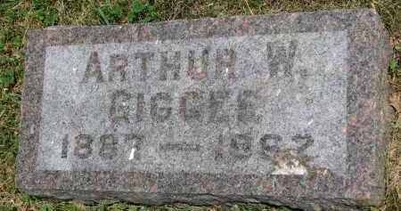 GIGGEE, ARTHUR W. - Yankton County, South Dakota | ARTHUR W. GIGGEE - South Dakota Gravestone Photos