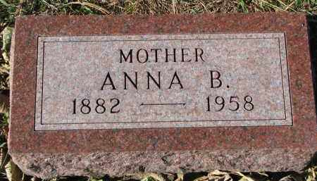 GILBERTSON, ANNA B. - Yankton County, South Dakota   ANNA B. GILBERTSON - South Dakota Gravestone Photos