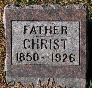 GILBERTSON, CHRIST - Yankton County, South Dakota | CHRIST GILBERTSON - South Dakota Gravestone Photos