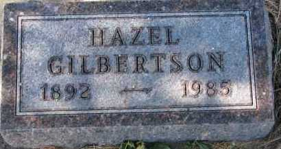 GILBERTSON, HAZEL - Yankton County, South Dakota | HAZEL GILBERTSON - South Dakota Gravestone Photos