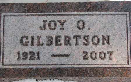 GILBERTSON, JOY O. - Yankton County, South Dakota | JOY O. GILBERTSON - South Dakota Gravestone Photos