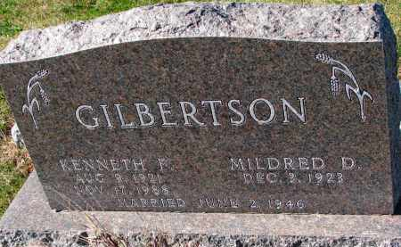 GILBERTSON, MILDRED D. - Yankton County, South Dakota | MILDRED D. GILBERTSON - South Dakota Gravestone Photos