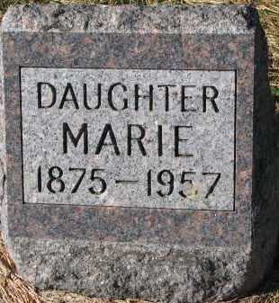 GILBERTSON, MARIE - Yankton County, South Dakota | MARIE GILBERTSON - South Dakota Gravestone Photos