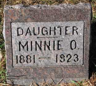 GILBERTSON, MINNIE O. - Yankton County, South Dakota | MINNIE O. GILBERTSON - South Dakota Gravestone Photos